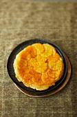 Tart tatin with oranges