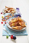 Chiacchere (Italian carnival pastries)