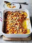 Sweet potato bake with cheese