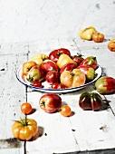 Various Heirloom Tomatoes