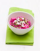 Herring salad with radishes