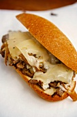 Cheesesteak Sandwich on Paper