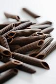 Chocolate penne pasta