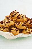 Cranberry-pistachio cookies