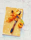 Mango and apricot jam