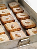 Anise biscuits with almonds