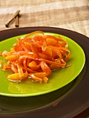 Carrot salad with orange