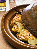 Tagine (braised chicken with spices)