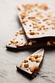 Chocolate with nut brittle