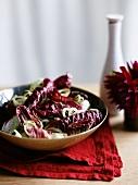 Insalat di radicchio (radicchio salad, Italy)
