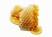 Honeycomb with Honey from Santa Barbara Honey Co.