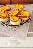 Pasteis de nata (Portuguese Christmas cakes)