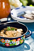 Scandinavian pork stew