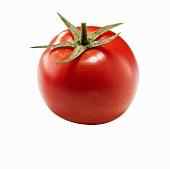A ripe tomato