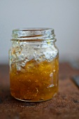 Marmalade in a screw top jar