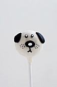 Cake Pop (decorated like a dog)