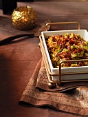 Caramelised Brussels sprouts with Prosciutto for Christmas