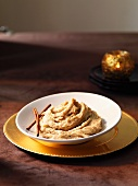 Parsnips with creamy garlic butter for Christmas