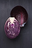Half a red cabbage