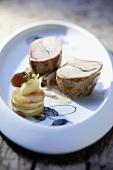 Partridge crepinette