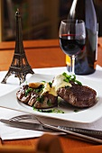 French Chateaubriad with Bearnaise sauce and tarragon