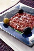 Harissa with olives (Tunisia)