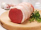 Beef fillet (rolled roast)