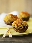 Stuffed button mushrooms