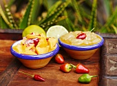 Mango and grape salsa (Mexico)