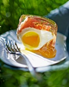 Eggs in aspic