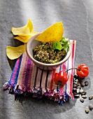 Mexican pumpkin seed dip