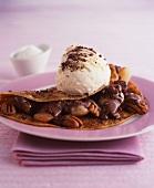 Pecan and Chocolate Pancakes