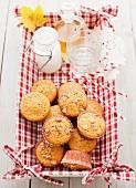 Butternut Squash, Apple and Walnut Muffins