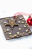 Festive Christmas chocolate