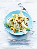 Fennel with walnut dressing