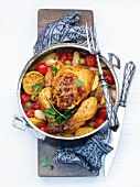 Moroccan lemon chicken
