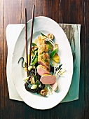 Fillet of pork with Asian-style vegetables
