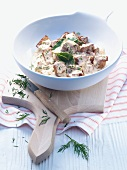 Lamb ragout with dill (Sweden)