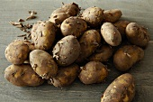 New potatoes (Jersey Royals)