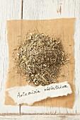Dried wormwood (Artemisia absinthium)