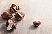 Nougat macaroons