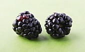 Two blackberries