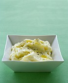 Olive-oil mashed potatoes