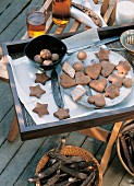 Carob biscuits, Italy