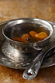 Mushroom and tall gastrodia tuber soup