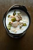 Vegetarian seafood stew
