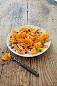 Carrot and mango salad