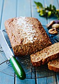 Fruit bread with coconut