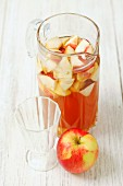 Apple punch with beer