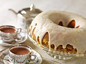 Gluten-free orange & poppyseed cake